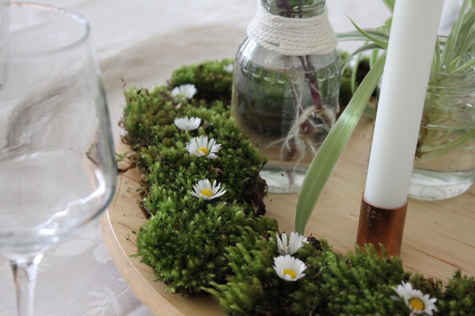Décoration de table champêtre