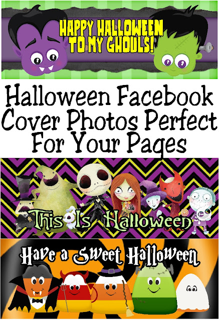 Decorate your Facebook pages with these Halloween Facebook cover photos.  With 6 fun designs to choose from, you can change your cover photo out every week and still have the Halloween spirit. #halloweenfacebook #halloweendecoration #facebookcoverphoto #halloween #diypartymomblog