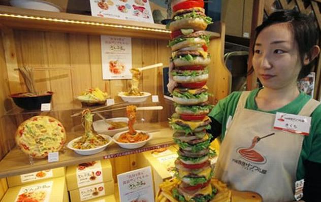 Takizo Iwasaki Pencetak Makanan Replika Plastik Jepang