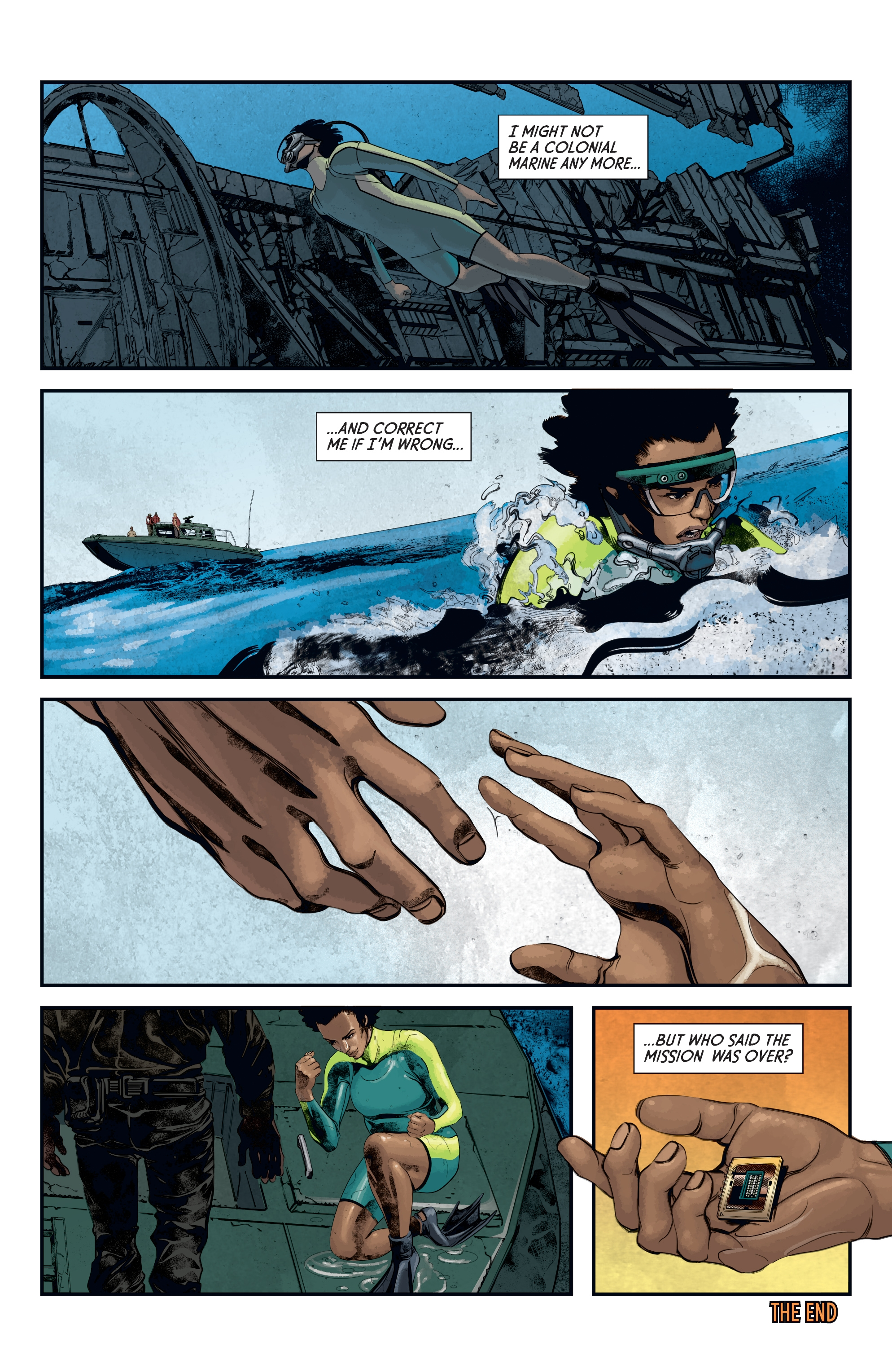 Read online Aliens: Defiance comic -  Issue #12 - 24