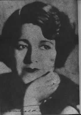 Rosita Quiroga en 1933
