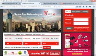 Akun wifi id gratis terbaru work ( trik internetan gratis menggunakan wifi id tanpa akun )