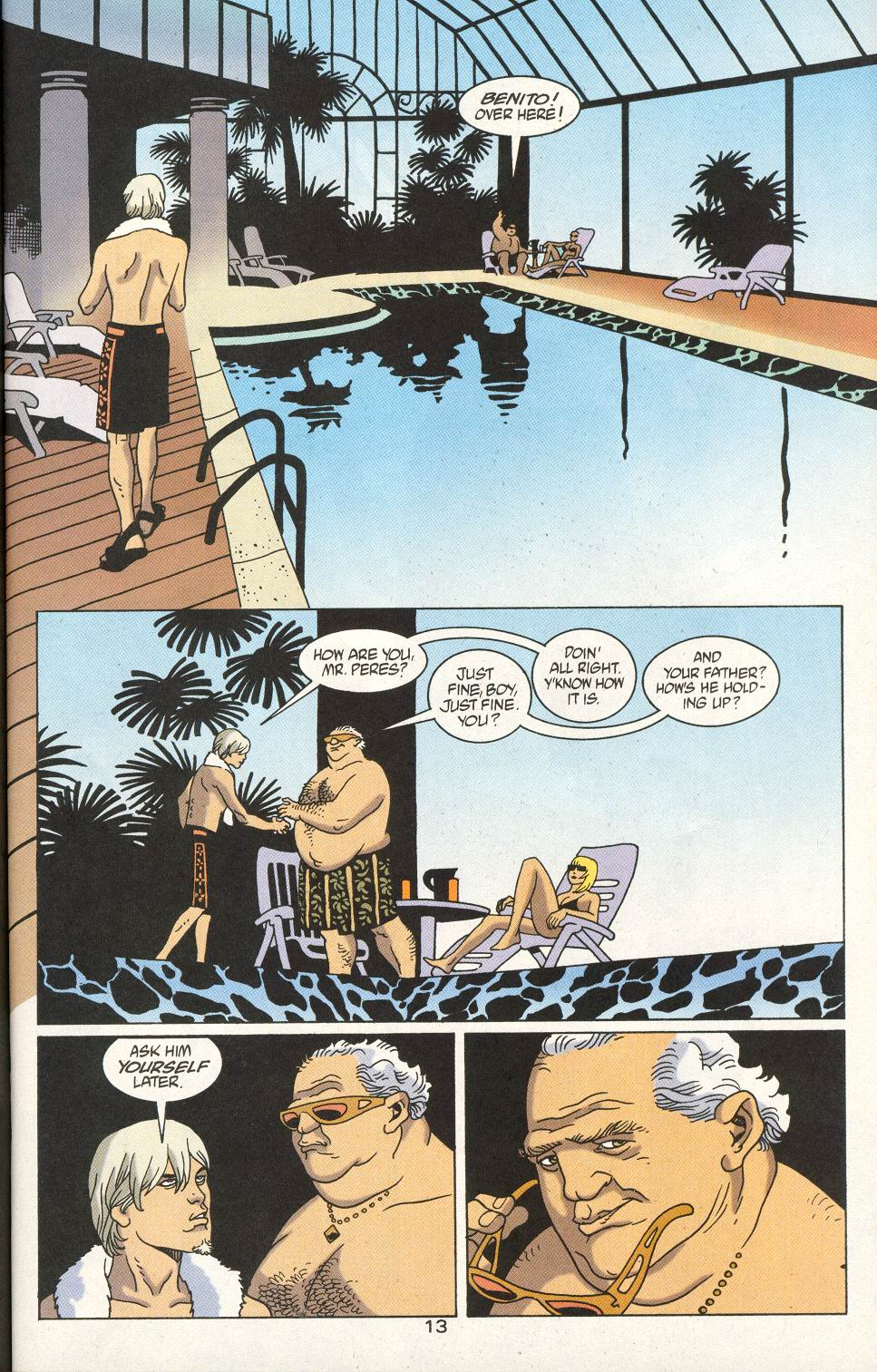 Read online 100 Bullets comic -  Issue #23 - 15