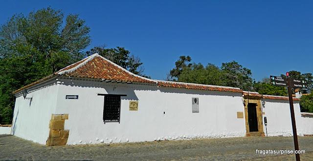 Fachada da Casa Museu Antonio Ricaurte, em Villa de Leyva, Colômbia