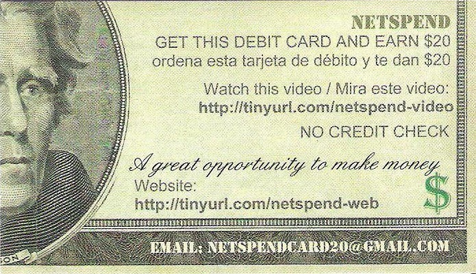 credit acceptance receive code for netspend