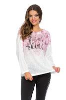 Bluza Shine Roz • Bluze si Camasi