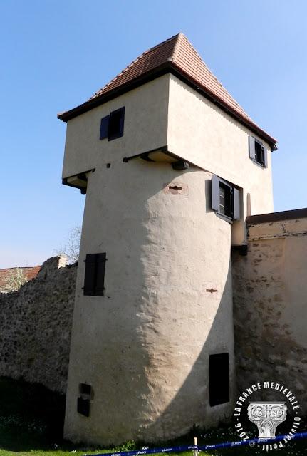 BERGHEIM (68) - Les remparts