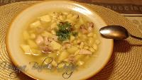 Zupa kartoflana z zacierką
