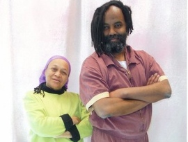 Pam Africa and Mumia Abu-Jamal