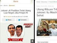 Hebat, Pemerintah Jokowi Hutang Melulu, Ditegur BI: Waspada Pemerintah!