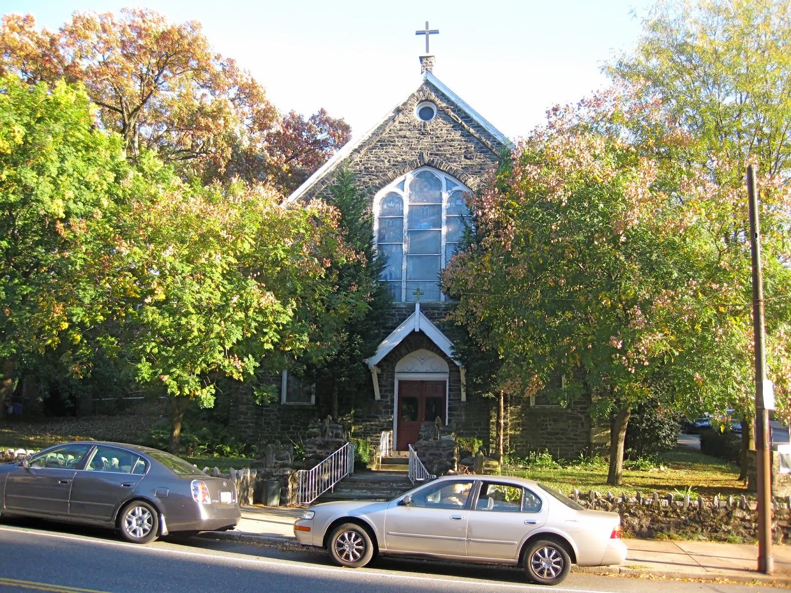 Maison Tudor East Falls quartier