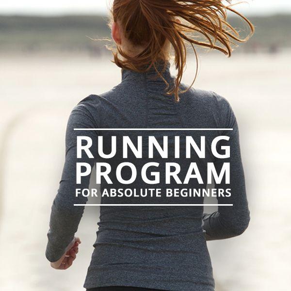 Running Program for Absolute Beginners Publish
