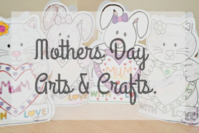 Mothers DAy arts and crafts from baker ross
