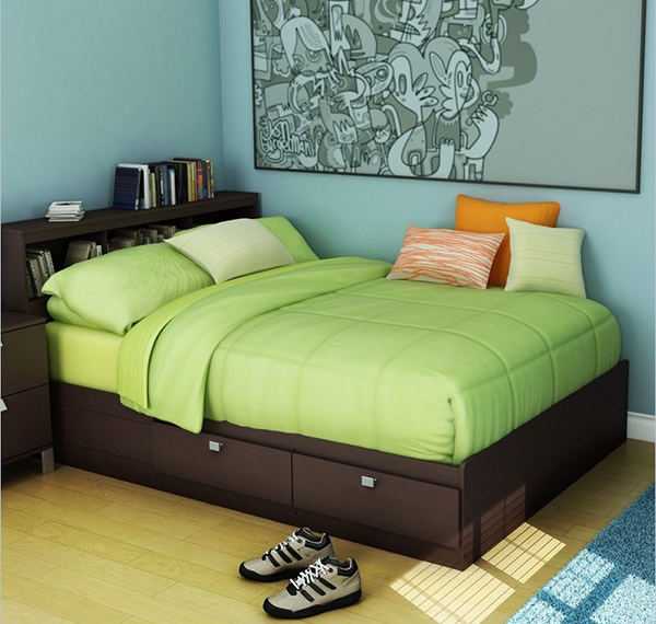 South Shore Cakao Full Storage Bed