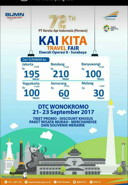 KAI Travel Fair Surabaya