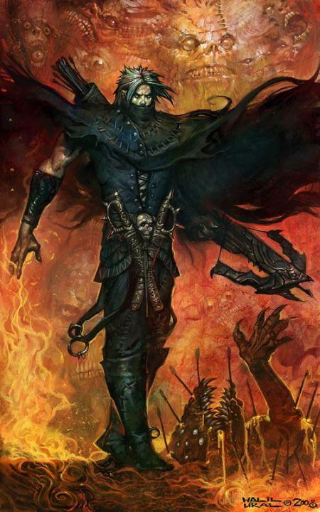 Halil Ural mrdream deviantart ilustrações fantasia arte conceitual Balista do inferno