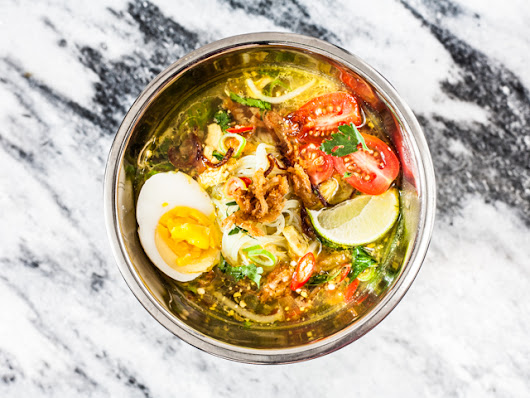 SOTO AYAM | SPICED INDONESIAN CHICKEN SOUP