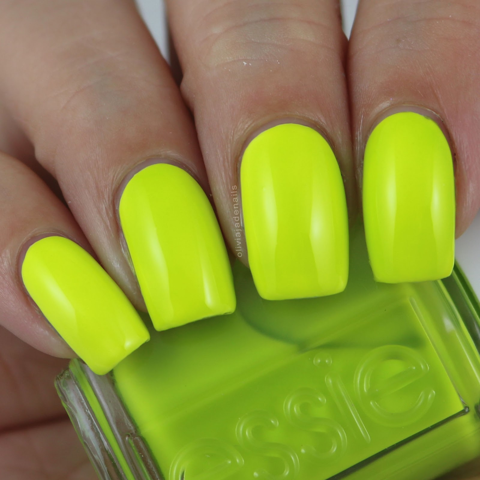 Olivia Jade Nails: Essie Neon 2016 Collection - Swatches & Review