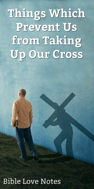 "Overcoming ""Self"" So We Can Carry Our Cross"