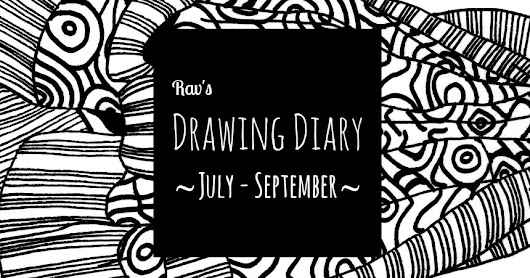 Drawing diary: July - September