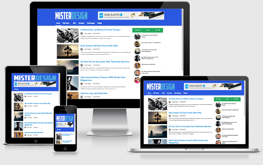 Template AfMagz Responsive & SEO Friendly