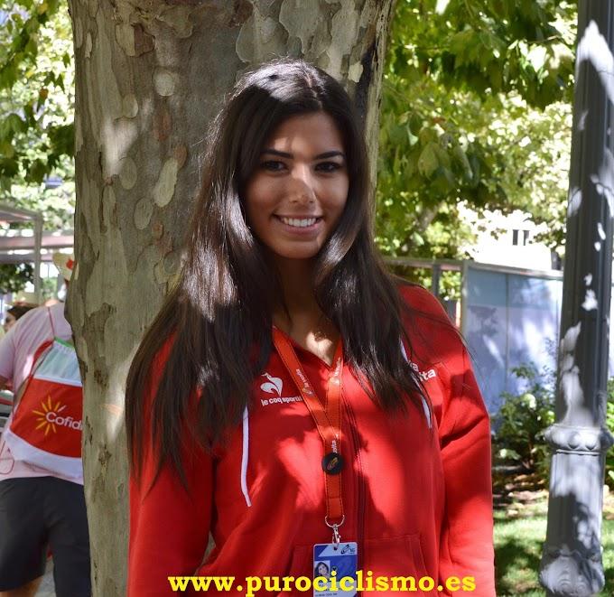 Sofía del Prado - Azafata de la Vuelta a España 2016
