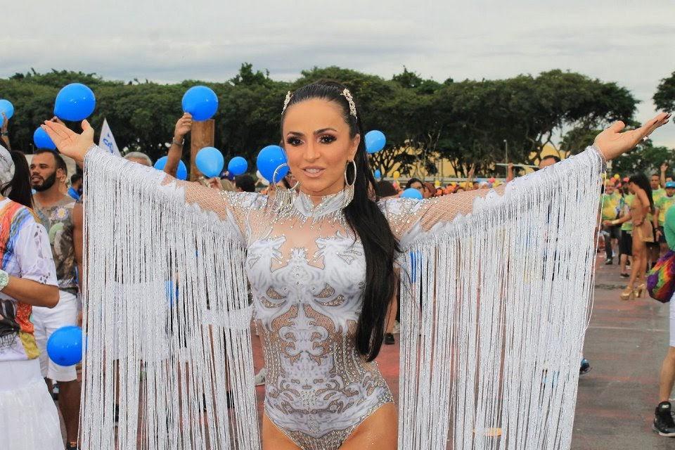 Phoebe Vecchioni, musa da Acadêmicos do Tucuruvi. Foto: Renato Cipriano/RZ Assessoria