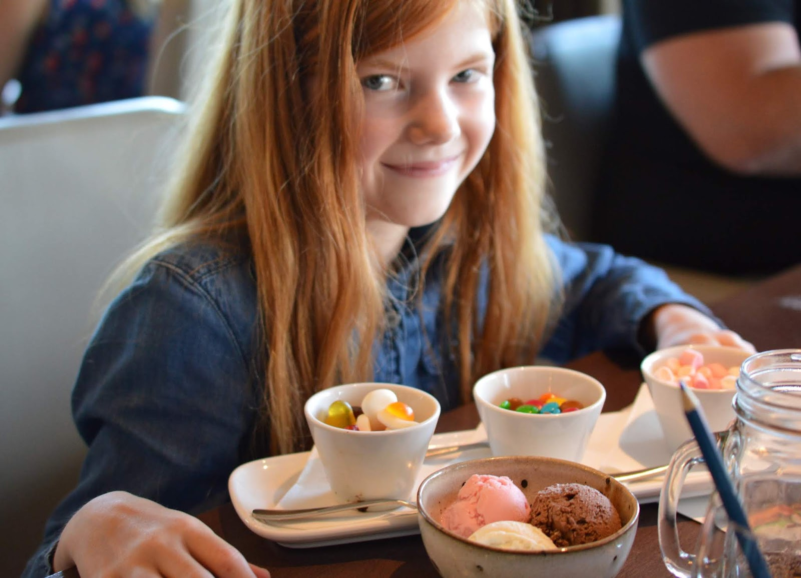 A Luxury Family Staycation at Rockliffe Hall Hotel  - children's tuck shop dessert
