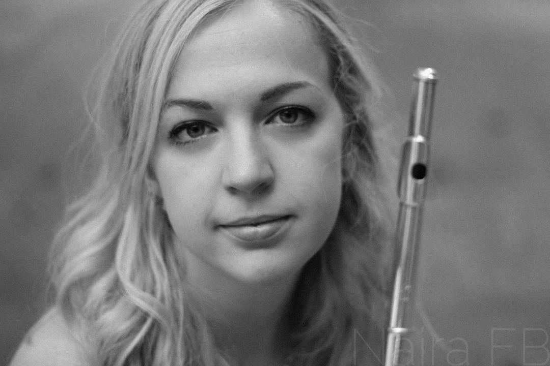 Katie Miner, flute