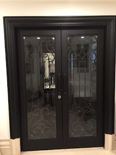 Pintu, Utama, Besi, Tempa, Klasik, Mewah
