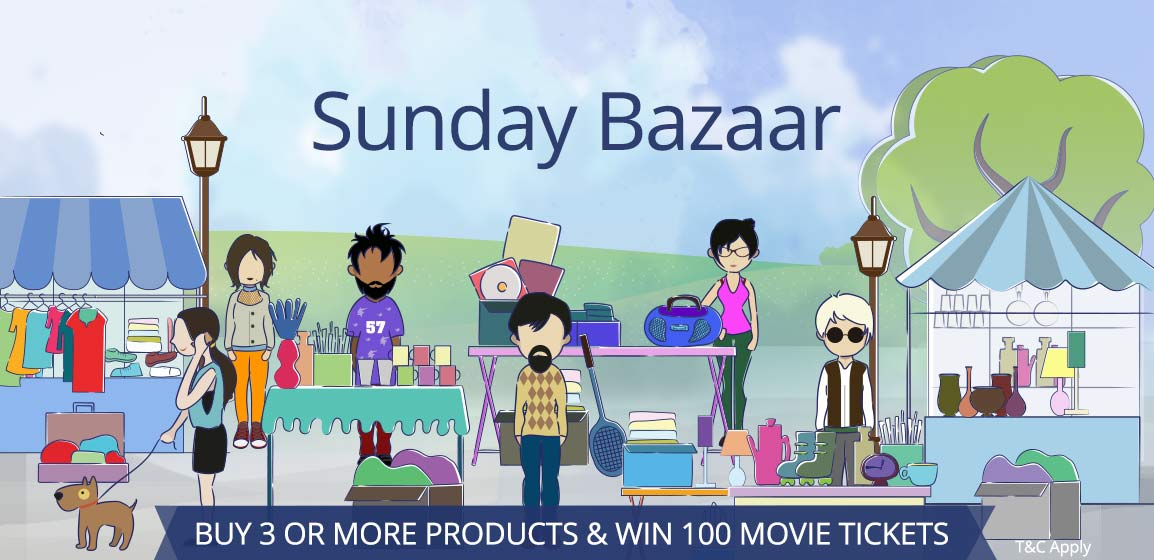 Paytm Sunday Bazar loot with suggestion