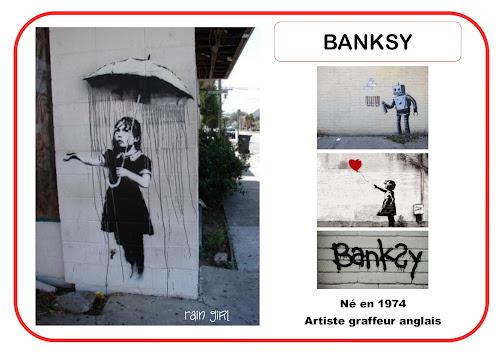 Banksy - Portrait d'artiste en maternelle
