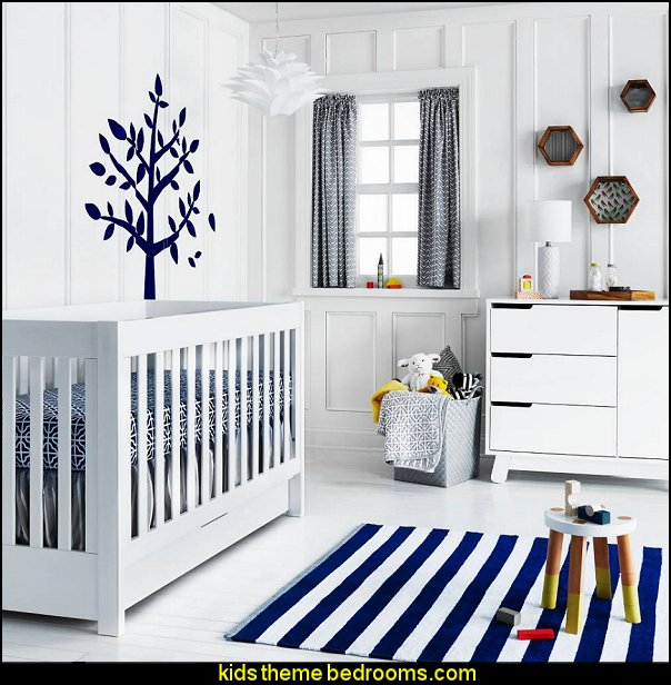 modern baby bedrooms Geo Nursery Room  modern baby nursery - modern kids bedrooms - modern childrens furniture - modern baby bedding - modern home style decorating Mid Century modern decor - Modern baby bedrooms - modern baby girls nursery - modern baby boys nursery - modern baby