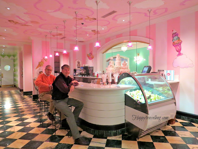 Drapers ice cream parlor