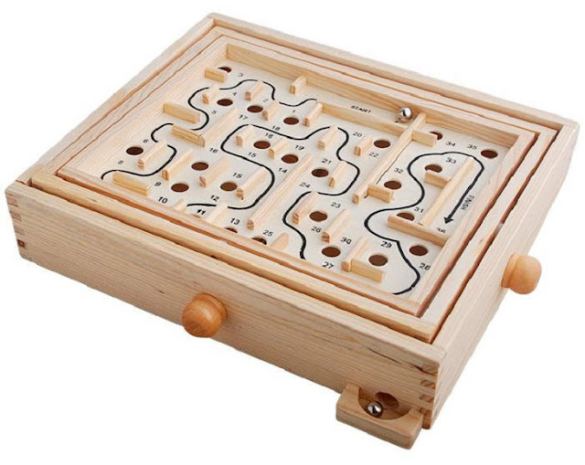 ball maze game