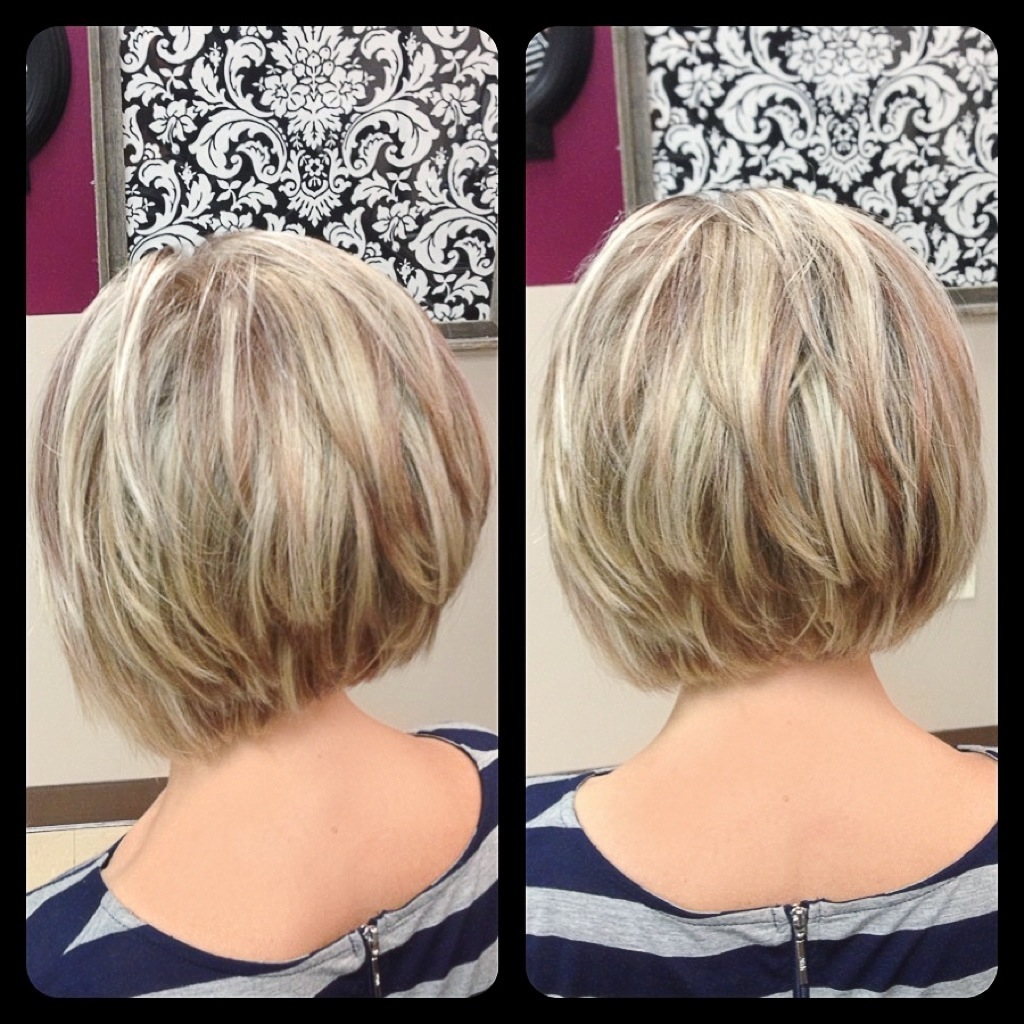 Bob haircuts front and back pictures