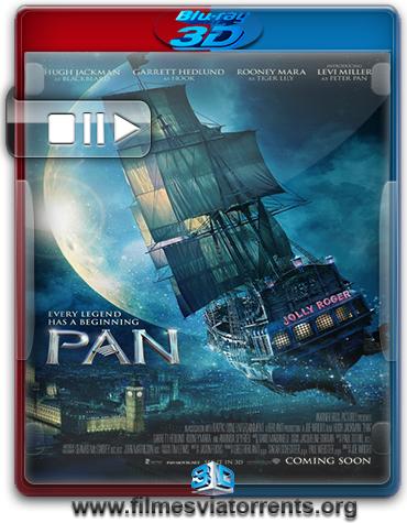 Peter Pan Torrent - BluRay Rip 1080p 3D HSBS Legendado (2015)