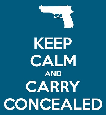 Is that a gun in your pocket or are you just keeping calm?