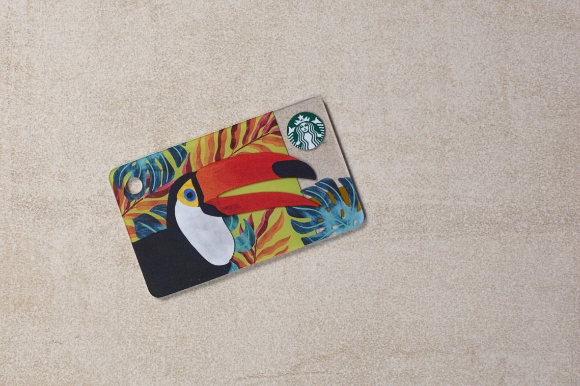 Starbucks Philippines Toucan Mini Card Jexx Hinggo