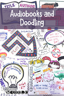 Free doodle notes for listening to read-alouds or audiobooks
