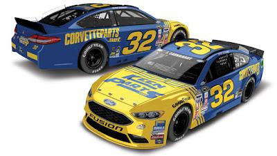 2016 Darlington #NASCAR Throwback Paint Schemes