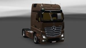 Mercedes Benz Actros MP4 GigaSpace & Interior