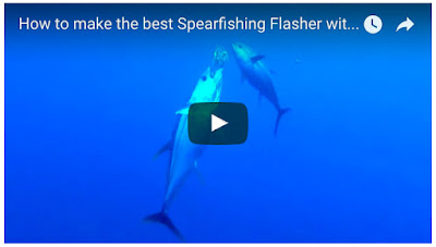 how to make the best spearfishing flasher video