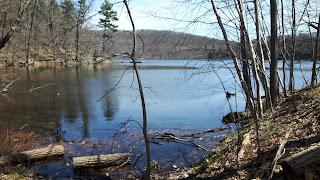 Lac des Bouleaux du mont Saint-Bruno, le printemps