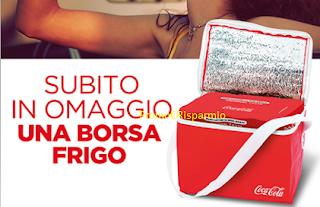 Logo Coca-Cola ti regala la borsa frigo come premio sicuro