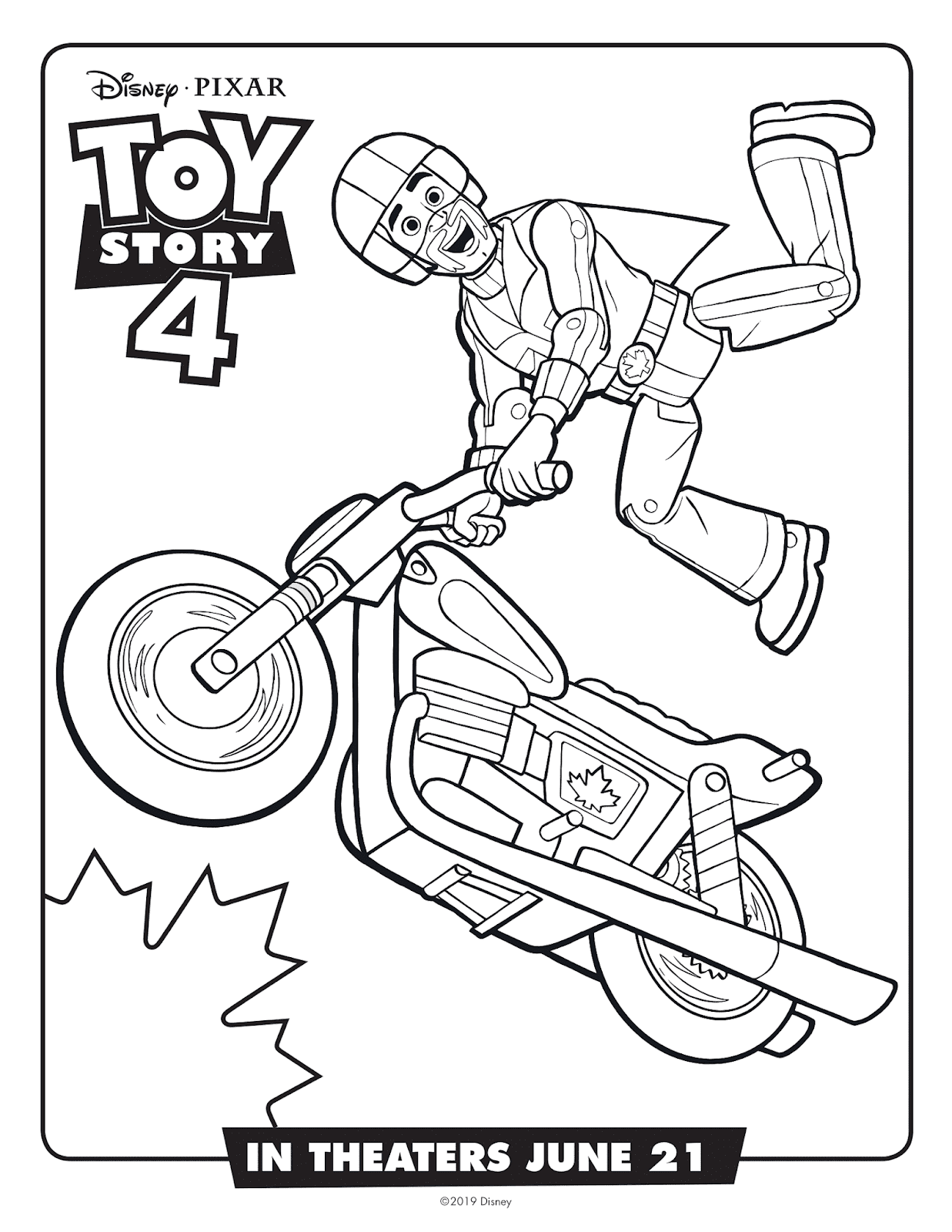 Free Printable Toy Story Aliens PDF Coloring Pages | 1600x1237