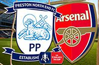 Arsenal VS Preston North End F.C.