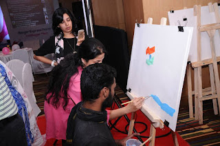 BergerXP Indiblogger meet Bangalore, Interior decorating for your some, selecting paint, art consultant