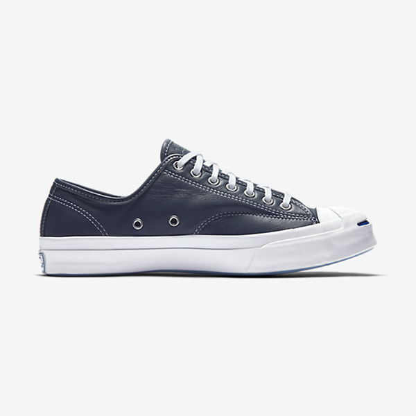 17bfd3e51b23cc Converse Jack Purcell Tumbled Leather Signature Ox. Sharkskin