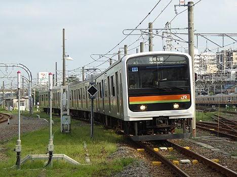 八高線 箱根ヶ崎行き2 209系3000番台(1日1本運行)